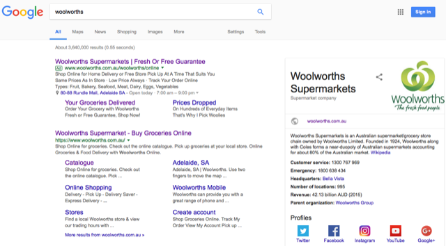 Google AdWords Brand Bidding Advertising Adelaide